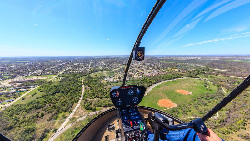 Photographing from manned-aircraft